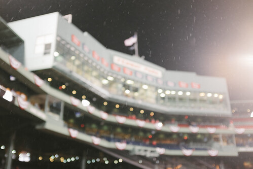 Drizzle at Fenway