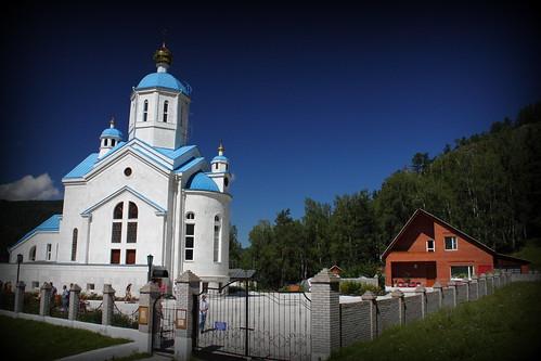 Sizaya village, Khakassia, Russia