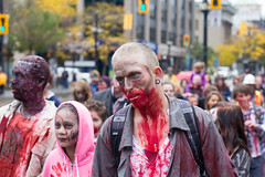 IMG_2454 (Jeff Hayward (@pointandwrite)) Tags: street halloween scary blood candid hamilton creepy gore zombies zombiewalk hamont