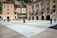 Placa de Santa Maria, Monastery of Montserrat | Catalonia, Spain (Pete Sieger) Tags: religious spain exterior catalonia monastery montserrat sacred sieger monestirdemontserrat placadesantamaria peterjsieger