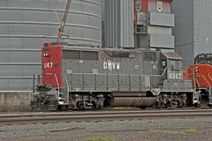 DMVW 6347 (Trevor Sokolan) Tags: usa max america gm diesel rail railway sp northdakota locomotive railfan espee emd shortline gp35 dmvw