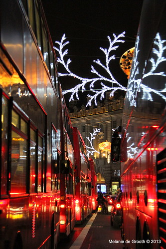 Buses on Regent Street 1