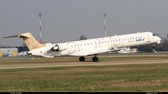 CRJ 1000 AIRFRANCE BRITAIR F-HMLA 19004 Entzheim avril 2013 (paulschaller67) Tags: avril 1000 airfrance crj entzheim 19004 2013 britair fhmla