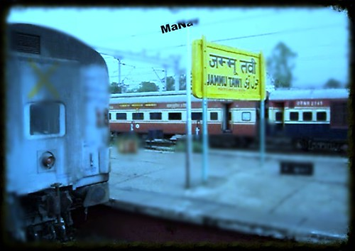 SARVODAYA EXPRESS ARRIVING AT JAMMU TAWI