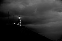 una luz en la tormenta (Rafa Lorenzo) Tags: lighthouse faro rasbaixas galicia temporal baiona silleiro