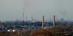 A view from Briddlesford Road -  Isle of Wight (BOB@ wootton) Tags: road station power isleofwight oil isle refinery cowes wight iow fawley briddlesford