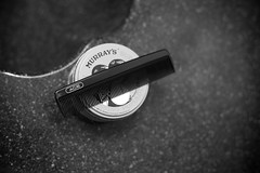 To Look Like An Ace (T-3 Photography) Tags: blackandwhite bw monochrome canon bathroom 50mm prime dof sink bokeh ace can comb murrays pomade haircare primelens niftyfifty 5dmarkii