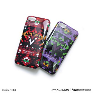 Filter017 × 福音戰士 - EVA Camo iPhone 5S Case & EVA Folk Style iPhone 5C Case