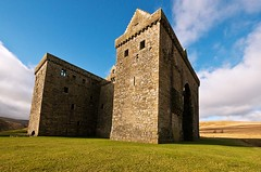 Hermitage Castle is located just of the B399 between Newcastleton and Hawick (penlea1954) Tags: uk walter castle scott de march scotland britain mary 4th scottish battle lord historic queen valley earl middle hermitage sir scots guardhouse bothwell soules douglases bloodiest liddesdale soulis