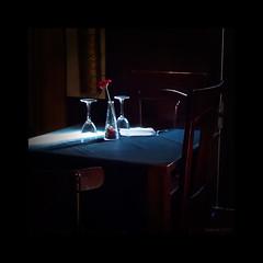 Table for two (chapiniki) Tags: flower love dinner table lunch restaurant chair couple pareja amor comida flor valentine romance celebration silla romantic feeling valentin cena mesa valentinesday sentimiento celebracion {vision}:{outdoor}=08 {vision}:{dark}=0736