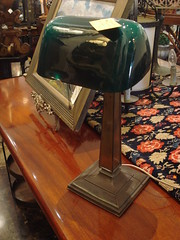 """EMERALITE DESK LAMP. CHIP TO SHADE. • <a style=""""font-size:0.8em;"""" href=""""http://www.flickr.com/photos/51721355@N02/12525520613/"""" target=""""_blank"""">View on Flickr</a>"""