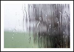 You run and hide your head (TheTherapist) Tags: england distortion abstract window rain wiltshire raindrop avebury {vision}:{text}=06 {vision}:{outdoor}=0943