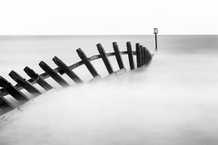 VERY BW (nalamanpics) Tags: longexposure sea blackandwhite bw seascape water mono devon groynes groins dawlishwarren explored milkywater alwaysexcellent mygearandme mygearandmepremium mygearandmebronze mygearandmesilver mygearandmegold photographyforrecreationeliteclub infinitexposure