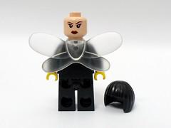 "Bee-Girl ""Limited Edition"" (nacmcustoms) Tags: black comics dc wasp lego super bolt bullseye heroes minifig custom marvel daredevil kickass"