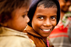 Smile (dvandegriend) Tags: people india color kids children asia bright