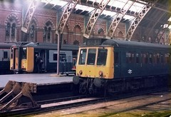 A pleasurable Station in my working life . (AndrewHA's) Tags: london station train diesel railway class line 127 multiple emu stpancras midland unit electrics bedpan dmu class317 electricmultipleunit