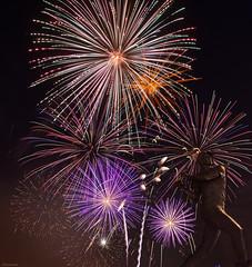 Fireworks Night (zoxcleb) Tags: longexposure night fireworks cove remote sfgiants att mlb fireworksnight sanfranciscogiants williemccovey attpark canon5dmk3 williemccoveycove silhouetteattattparkcanon5dmk3fireworkslongexposuremlbnightremotesanfranciscogiantssfgiants