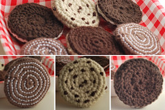 140415galletas02 (glaramknits) Tags: diy crochet galletas playfood cockies ganchillo