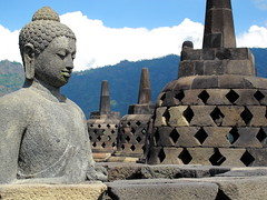 Borobodur, Java. (Cale McMillen) Tags: travel bali canon sumatra indonesia photography java ngc surfing powershot ombak g12