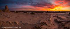 Mungo Sunset XVII Pano (Gary Hayes) Tags: sunset lake desert australia outback mungo australianoutback landscapephotography lakemungo mungonationalpark willandralakes mungolake