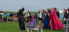 Closing Rite for Beltane 2014 at Thornborough Henge (120) (PHH Sykes) Tags: festival ritual closing rite sykes beltane henge phh thornborough henges