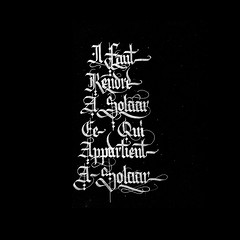 Solaar. (Syntax One) Tags: textura gothic calligraphy blackletter