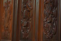 Détail des stalles (ChevillonW) Tags: church la place cathedral dom basilica kathedrale catedral iglesia kirche chiesa duomo saintlouis eglise cathedrale cattedrale napoléon vendée paysdelaloire religiousarchitecture larochesuryon lrsy rochesuryon