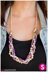 Braided Treasure - Purple