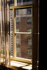 Biltmore Hotel Window, Los Angeles (Rachelle Mendez) Tags: color window canon photography losangeles brickwall curtains fullframe windowlight biltmorehotel interiormotives thisiscalifornia nakedlandscapes