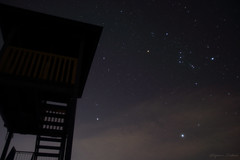 Time zone Orion rises (2) (shig.) Tags: sky cloud clouds stars star sirius orion betelgeuse rigel 盛岡市 岩手県 starry constellation procyon starrysky オリオン座 シリウス 御所湖 プロキオン wintertriangle ベテルギウス リゲル 冬の大三角 greatsoutherntriangle 箱ヶ森