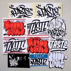 Taste (PSYCO ZRCS 10/12) Tags: street art sticker stickerart hand label tag stickers pack slap usps tagging trade 228 slaps handstyle stickerporn