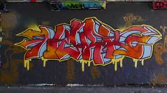 Nerk (cocabeenslinky) Tags: street city uk england urban streetart london art writing lumix graffiti paint artist december grafitti photos south graf united capital letters kingdom tunnel spray east panasonic waterloo graff leake se1 artiste 2014 nerk dmcg6 cocabeenslinky