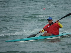 Rower from Victor Harbor (mikecogh) Tags: kayak exercise paddle canoe rower tennyson westlakes