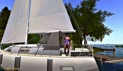 Setting Sail (Veronique Oatsmill LotusSpirit.....ღ.) Tags: secondlife loonette tiffanydesigns secondlifeliving sloutdoors