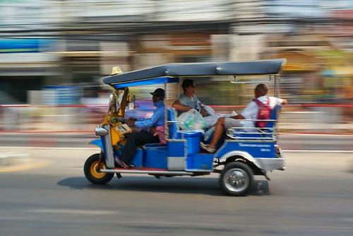 Streets of Hua Hin, Thailand.