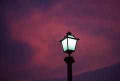 ENG_300 (Manel Armengol C.) Tags: luz lamp spain power streetlamp electricity catalunya electricidad redcloud empord lamparaexterior iluminacindelacalle nuberojiza