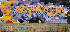 graffiti in amsterdam (wojofoto) Tags: amsterdam graffiti wojofoto hof amsterdamsebrug flevopark qturbo wolfgangjosten nederland netherland holland