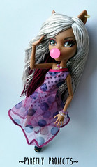 Clawdeen (Pyrefly Projects) Tags: sports thread monster high doll embroidery projects custom ghoul reroot rehair pyrefly clawdeen kizrianah