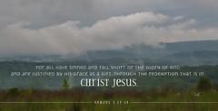 Romans 3-23-24 (dianabog ) Tags: bible scripture theword