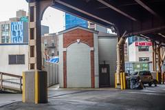 imagine this door used to be huge (nicknormal) Tags: queens cinderblock queensborobridge longislandcity cinder