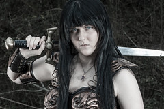 IMG_3836 (ForeverLawless) Tags: photography princess cosplay sword warrior xena hercules 2016 lawless xenite xenaverse