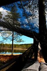 Hammock-o'clock! (bente.stensland) Tags: camping camp hammock hennessy hengekye