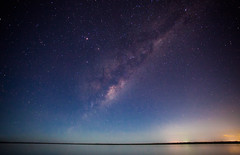 Lake Cootharaba Australia (James & Leah) Tags: sky lake night stars landscape australia noosa canon5d nightsky milkyway landscapephotography cootharaba boreenpoint