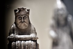 King Noggin (amfawcett) Tags: century king chess lewis nationalmuseumofscotland 12th uig chesspiece noggin lewischessmen nogginthenog