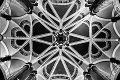 Underneath the arches (The Green Album) Tags: house berlin art architecture court fuji painted landmark ceiling historic ornate nouveau mitte amtsgericht xt1