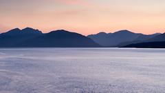 Ardnamurchan mountainscape (Joe Dunckley) Tags: uk sunset sea mountain water silhouette landscape coast scotland highlands dusk fjord ballachulish westhighlands scottishhighlands lochleven sealoch greatglen ardnamurchanpeninsula
