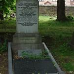 Grave of Rev John Ross