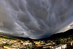 Storm cloud (jasbond007) Tags: canada storm pentax britishcolumbia okanagan stormy fisheye penticton mammatus mammatocumulus k20d nigeldawson smcpentaxda1017mmf3545fisheyeedif jasbond007 copyrightnigeldawson2016