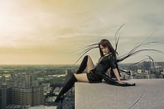 Dark Angel (Novafly) Tags: karen         angel dark girl beauty boots wings killer taiwan