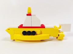 We all live in a... #Lego (mattosborne325) Tags: lego submarine beatles yellowsubmarine
